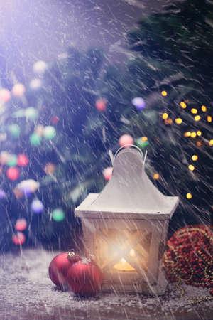 stupendous: beautiful snowy winter evening