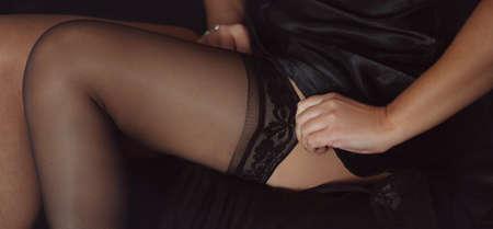 piernas: Piernas sexys en medias