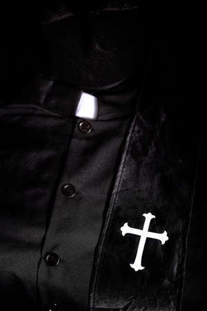 cassock of a priest with a color