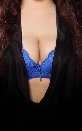 robe sensuelle et en soutien-gorge