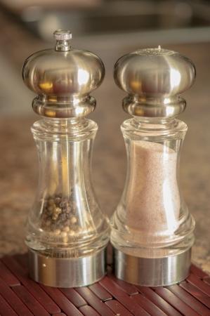Salt and Pepper Фото со стока