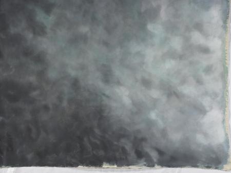true photographic backdrop cloudy in drape Stock Photo