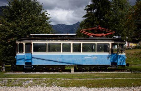 Historic train of Locarno to Domodossola Editorial