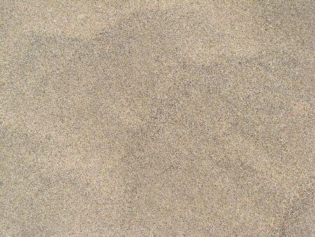 yellow sand of beach