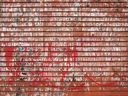texture of a red and dirty brick wall
