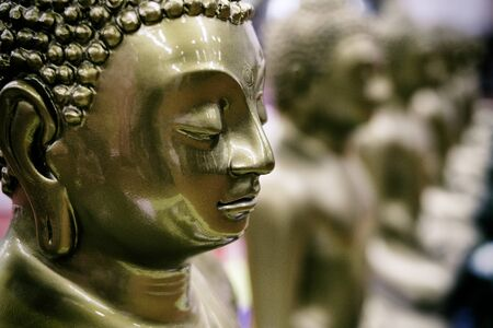 Harmony zen and relaxation with Buddha Stock Photo