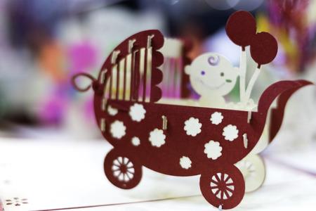 赤ちゃんベビーカー、スティル ・ ライフのコンセプト 写真素材