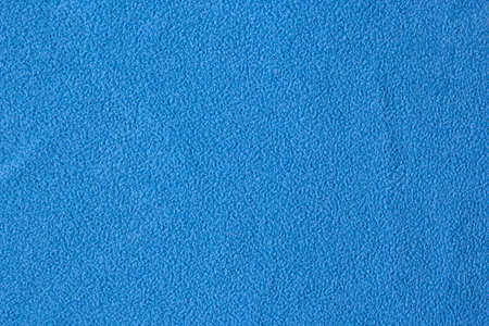 Background Blue Woolen Fabric. Blue flannel fabric texture background simple surface used backdrop or products design. Blue cloth background with fabric texture. 免版税图像