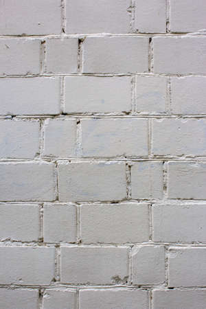 Abstract grey white color brick wall texture for background. Textured Background Illustration. Weathered texture stained old stucco light gray and aged paint white brick wall background.