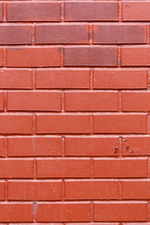 Abstract red color brick wall texture for background. Textured Background Illustration. Abstract weathered texture stained old stucco red and aged paint red brick wall background. Architecture Standard-Bild