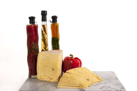 Middle Eastern Cheese parmesan, Romy Cheese Stock Photo