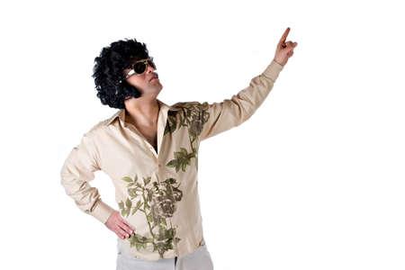 disco era: Disco Style Stock Photo