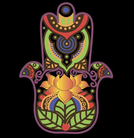 hamsa: Hamsa Lotus