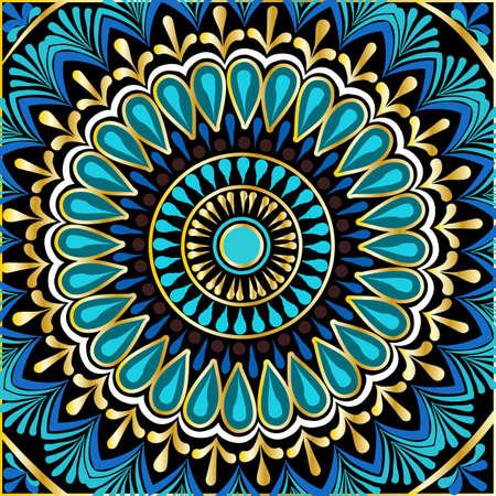 꽃 만다라의 그리기
