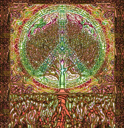 peace symbol: Peace Symbol Tree of Life