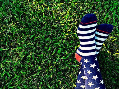 stripes: Stars and Stripes socks