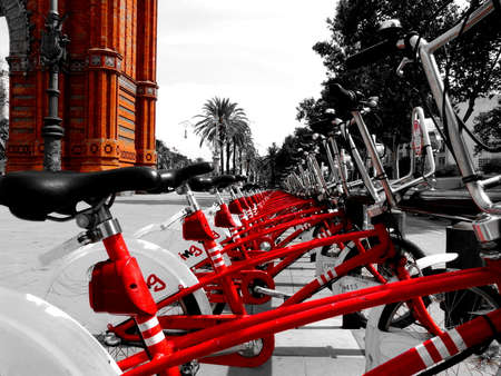 Discovery of a wonderful city in bike, Barcelona