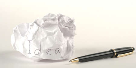 arose: Idea arose creative crisis after - metaphor