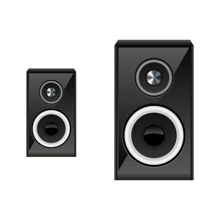 speaker system: Ilustraci�n del sistema de altavoces