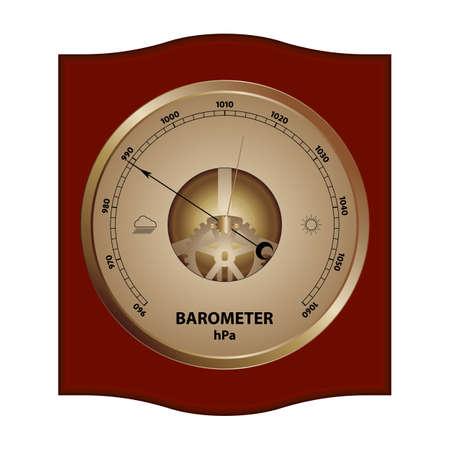 barometer: Illustration of barometer