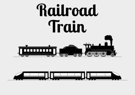 locomotora: Ilustraci�n vectorial de un tren. Vectores
