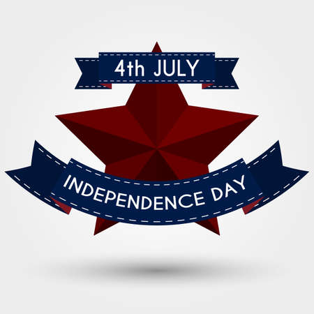 independence day: Vector illustration independence day usa.