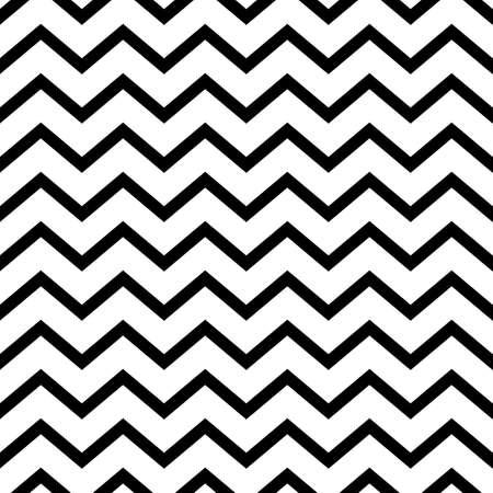 Vector illustration seamless pattern zig zag.