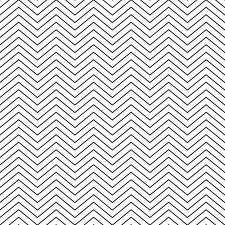 zig: Vector illustration seamless pattern zig zag.