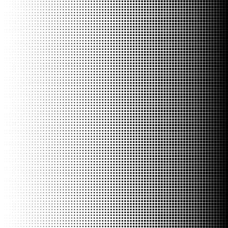 Vector illustration of Halftone squares.