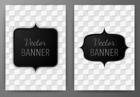 a4: Vector illustration of a banner invitations a4. Illustration
