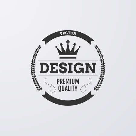 Vector illustration.  crown.