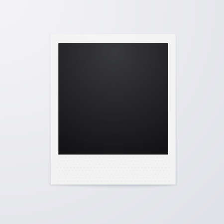 polaroid frame: Vector illustration of a Polaroid picture. Illustration