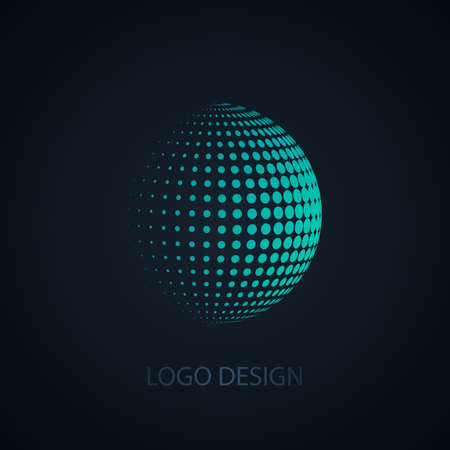 Vector illustration of abstract business logo.