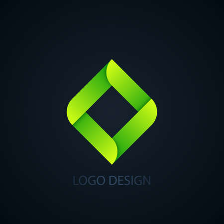 abstract business: Vector illustration of abstract business logo squares.