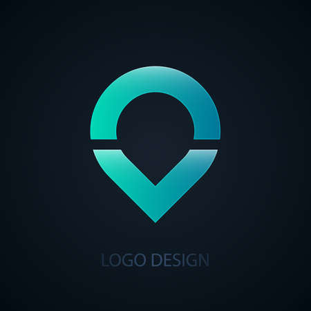 abstract business: Vector illustration of abstract business logo water. Illustration