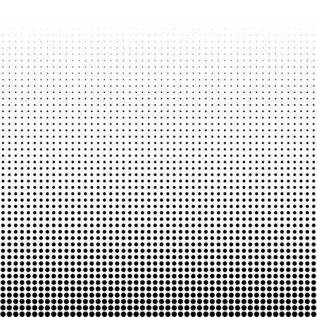 Vector illustration of a halftone. Illustration