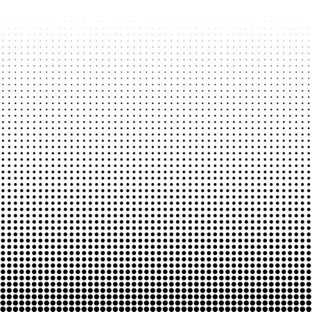 gradation: Vector illustration of a halftone. Illustration