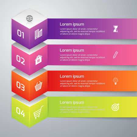 an example: Vector illustration infographics 3d cube.