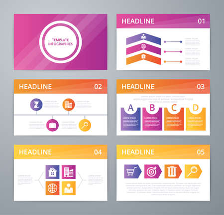 Vector illustration infographics . Flat design set for advertising brochure flyer and magazine.