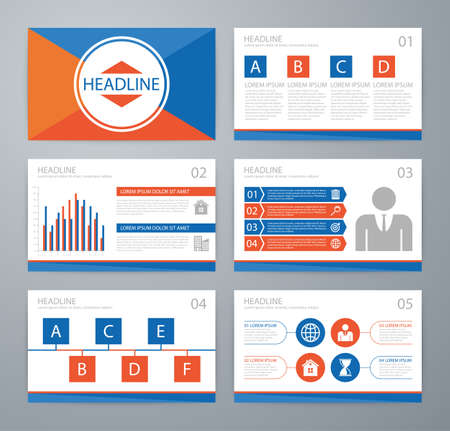 magazine: Vector illustration infographics . Flat design set for advertising brochure flyer and magazine.
