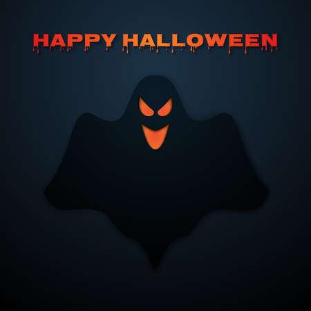 renders: Stock Vector Happy Halloween. Ghost.