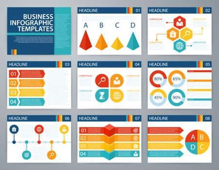 Vector illustratie infographics. Platte design set voor reclamefolder flyer en magazine. Stockfoto - 47623458