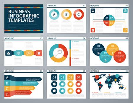 infos: Vector illustration infographics . Flat design set for advertising brochure flyer and magazine.