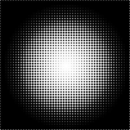 fade: Vector illustration of a halftone pattern.
