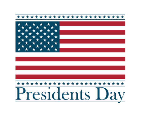 president's day: presidents day background, united states. vector illustration