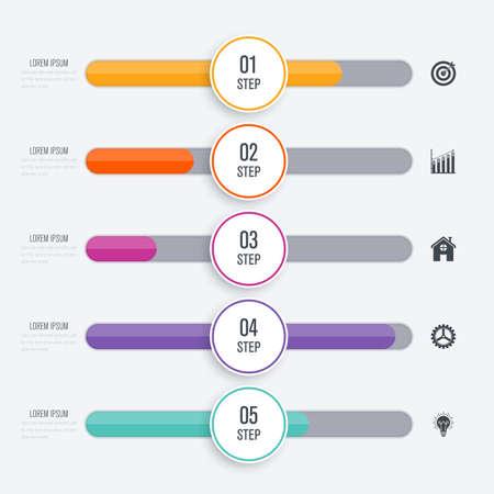 Infographics illustration.
