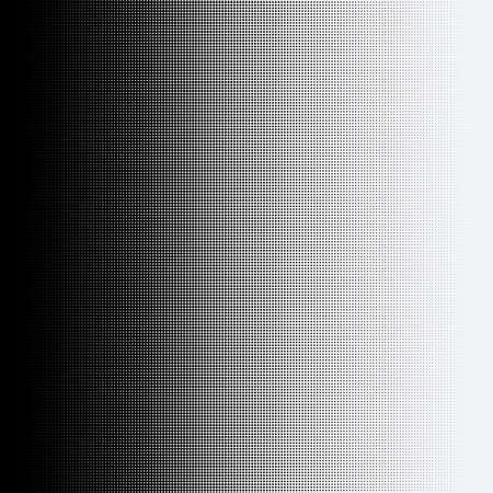 흰색 배경에 하프 톤 도트입니다.