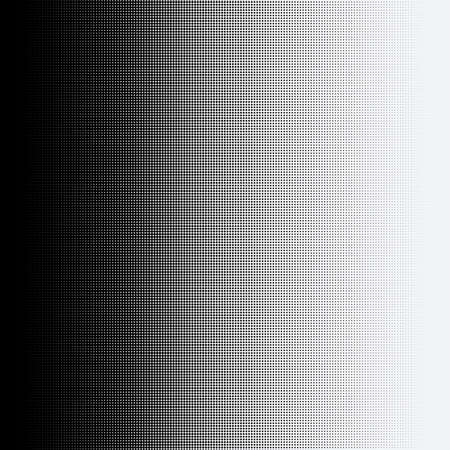 Halftone dots on white background.