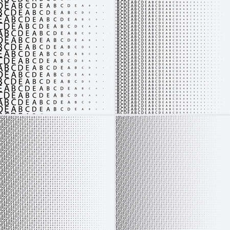 Halftone dots on white background Vetores
