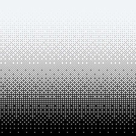 Halftone dots on white background 向量圖像